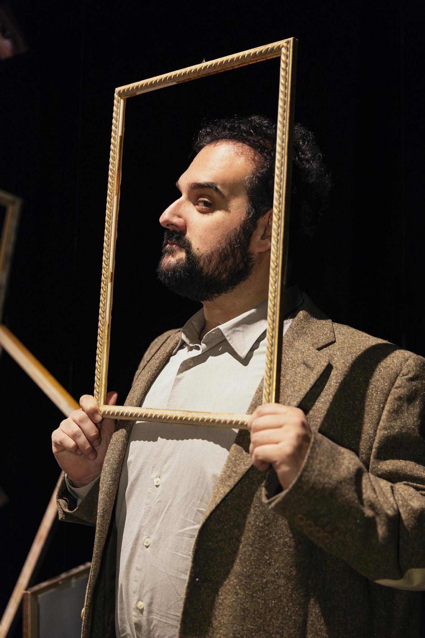 Gaetano Colella, ritratto attore teatrale
